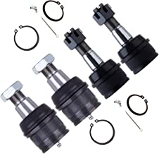 cciyu Front Lower Upper Ball Joints fit for 1992-1997 Ford F-350 4WD 1999-2012 Ford F-350 Super Duty 4WD 4pcs Suspension Kit