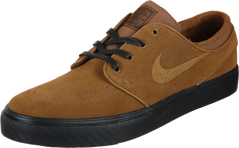 túnel Escarpa sanar  Amazon.com | Nike Zoom Stefan Janoski Skate Shoes Lt British Tan/lt British  Tan, Size | Skateboarding