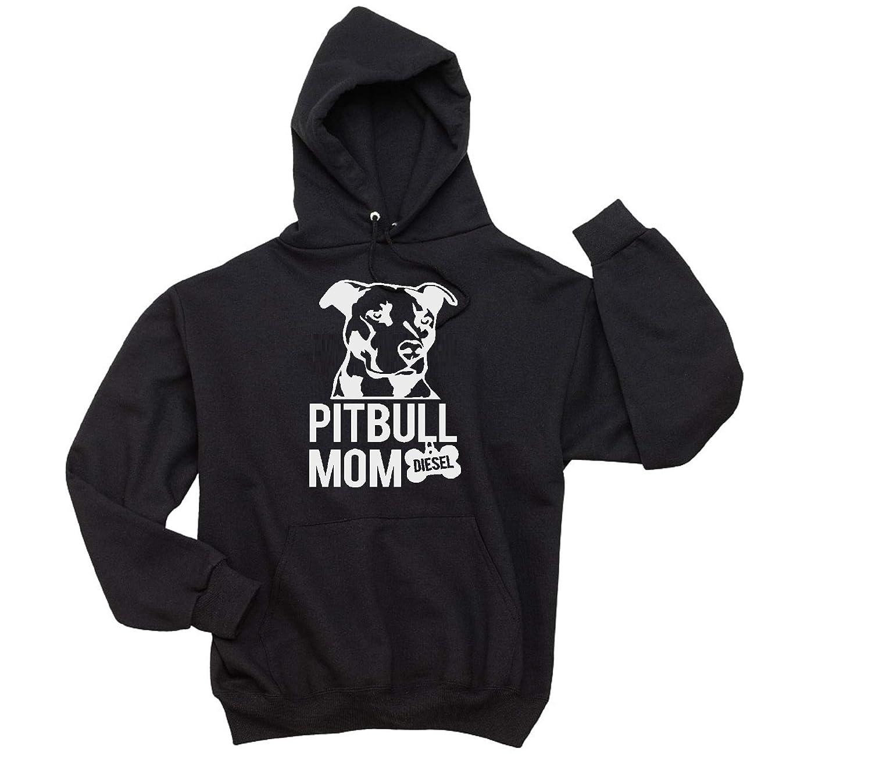 Pitbull Mom Personalized Free shipping on posting reviews Dog Hoodie Unisex Sweatshirt Ranking TOP7 Name