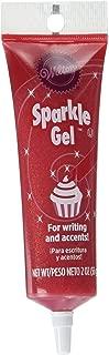 Wilton 704-9990X Red Sparkle Gel Icing Dispenser