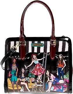 Nicole Lee Stylish Printed Women's Briefcase Spacious Satchel Bag