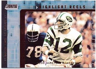 Joe Namath 2001 Stadium Club Highlight Reels #HRJN - New York Jets