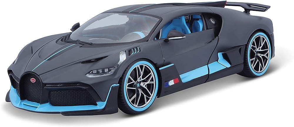 Bugatti divo,modellino da collezione  scala 1:18, bburago BUG09EB