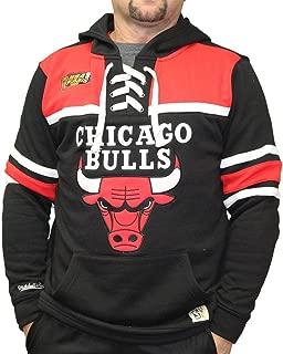 Chicago Bulls NBA Skate Lace Pullover Hooded Sweatshirt