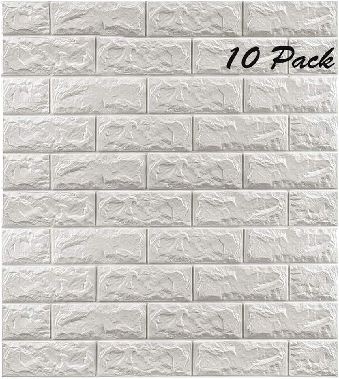 Buy 3D Wall Panels 10 Pack Self ...