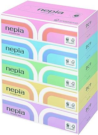 【ケース販売】 ネピア プレミアムソフト ティシュ 360枚(180組)×5個パック×12個