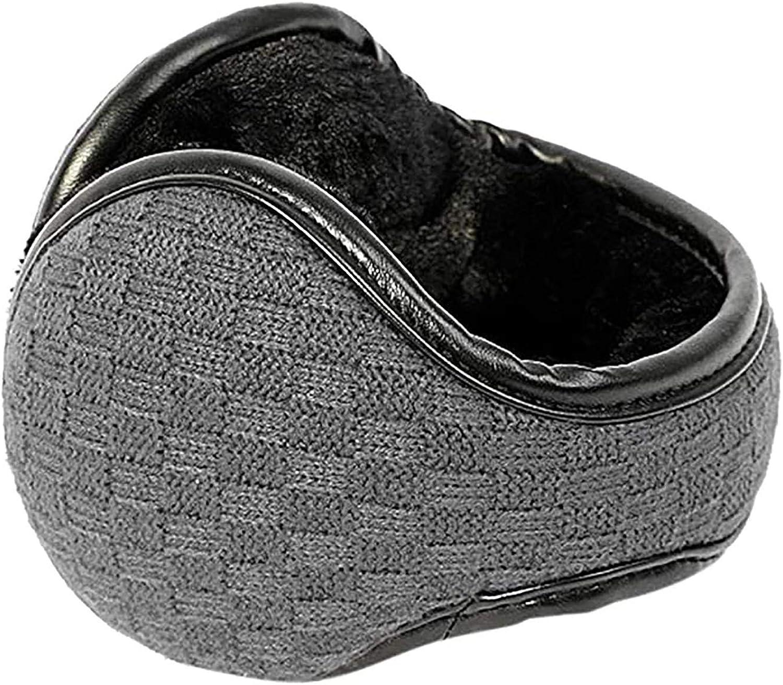 Foldable Ear Warmers Cotton-Fleece Unisex-Adult or Kids Winter Warm Earmuffs Outdoor Skiing,Biking Earmuffs for Men Women and Children