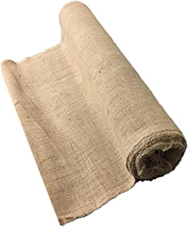 AAYU Premium Burlap Fabric Roll 48 inch x 10 Yards   30 ft Heavy Duty (10 oz) DIY Landscaping Cloth/Weed Barrier Eco-Friendly, Natural Jute Bulk Wedding Aisle Runner