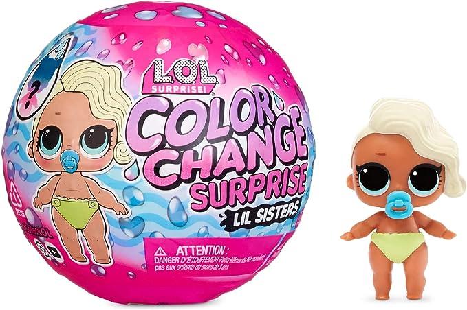LOL Sorpresa Cambio de Color Lil Sisters