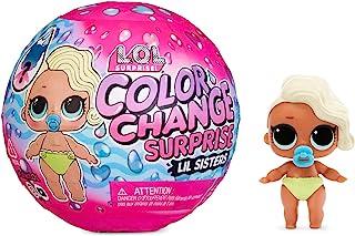 LOL Surprise Kleurverandering Surprise Lil Sisters. Verrassingspop met 5 Verrassingen, Kleurveranderingseffect en Ijskoud ...