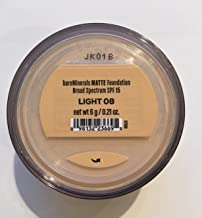 bareMinerals MATTE SPF 15 Foundation with Click, Lock, Go Sifter - Light, 0.21 Ounce