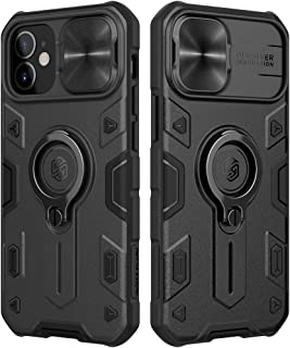 Nillkin [CamShield Pro]Compatible with iPhone 12 Case, Compatible with iPhone 12 pro Case Built in Kickstand & Camera Lens...