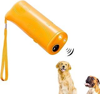 Mein HERZ Handhållen hundavvisande tränare, anti-skällanordning, LED ultraljuds hundavvisare och träningsenhet 3-i-1 anti-...