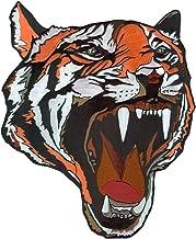 VEGASBEE Large Tiger Head Premium Fashion Design Embroidered Iron-ON Patch Jacket Emblem 12