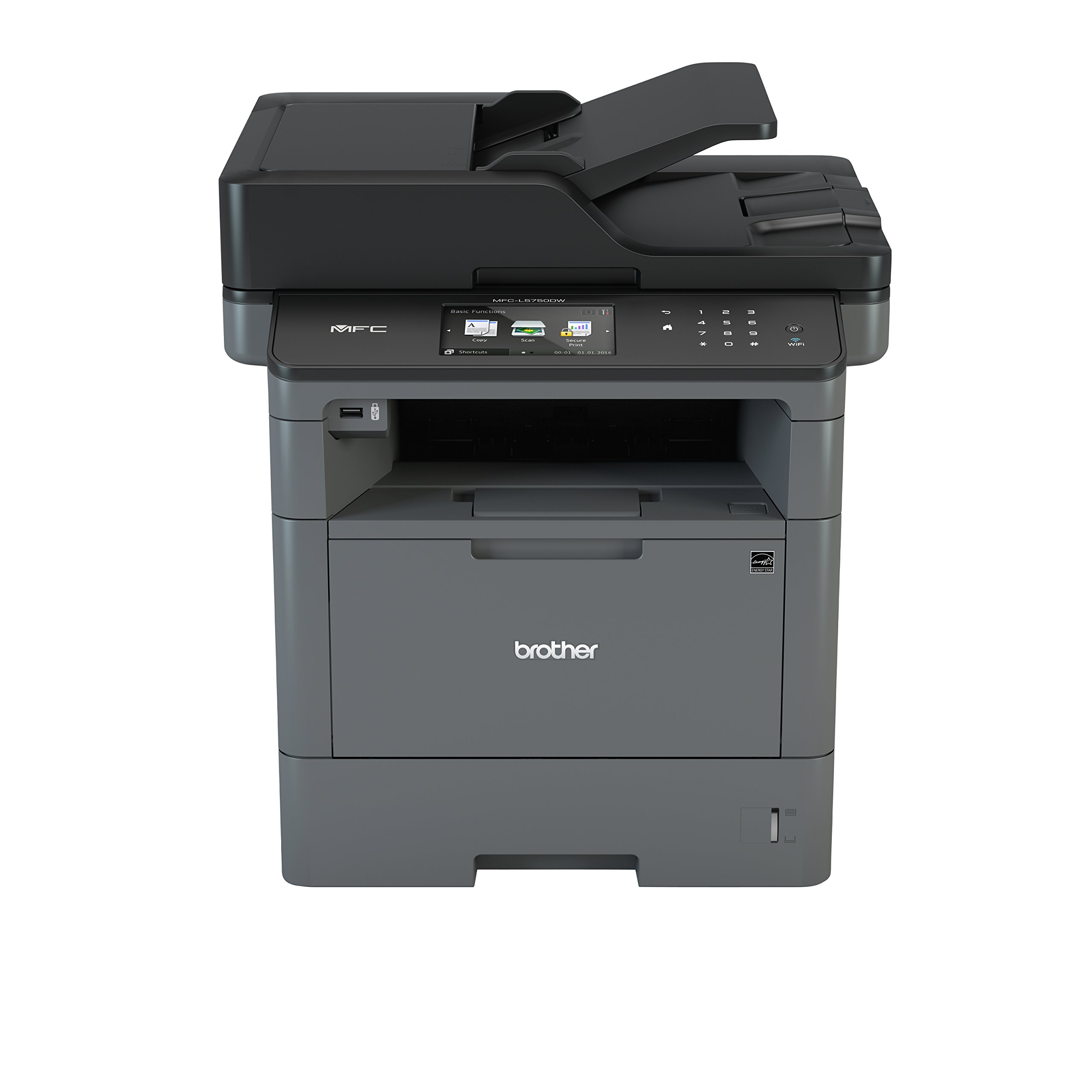 Duplex Two-Sided Printing /& Wireless Brother DCP-L2530DW Mono Laser Printer Extra Original TN2410 Brother Toner A4 Print Black, 1,200 Pages Copy Scan