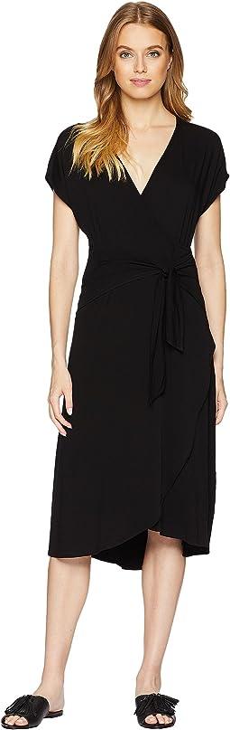 Rylie Rayon Tie Waist Dress
