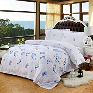 TAOTAOSJT Bedding Set Luxury Hotel Bedding Sets Bed Set Solid Color Duvet Cover Bed Sheet Bed Linen 100% Cotton Queen King Size 4pcs Lace Gift-4-US Queen 4pcs