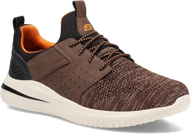 Skechers Men's Delson 3.0 Cicada Sneaker