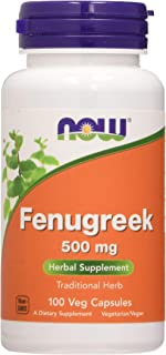 Now Foods Fenogreco, 500Mg 100 Unidades 90 g