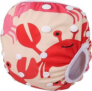Storeofbaby Pañales de piscina reutilizables para bebés Pantalones impermeables para piscina para nadadores de 0 a 36 meses