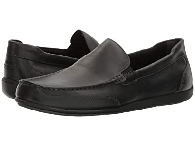 Rockport Bennett Lane 4 Venetian (Black Leather) Men