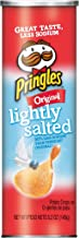 Pringles Potato Crisps Chips, Lightly Salted, Original Flavored, 5.2 oz Can