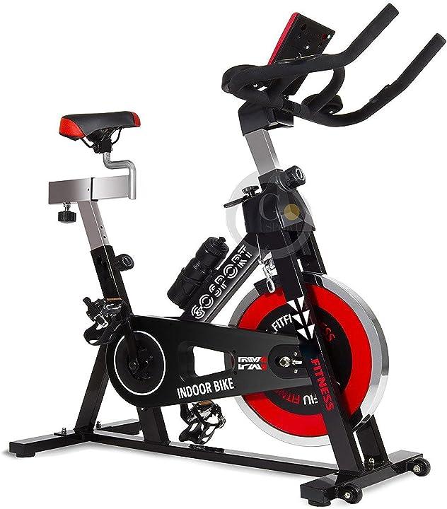 Spin bike professionale cyclette aerobico home trainer, bici da fitness_allenamento gosport.it - govita B07C9G4NV6