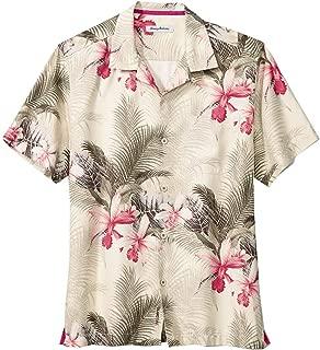 Big & Tall Shadows in Paradise IslandZone Camp Shirt -BT322111