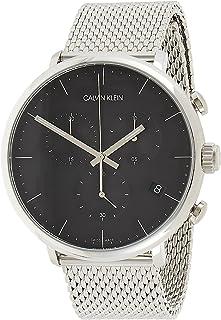 Calvin Klein Men's Quartz Watch, Chronograph Display and Stainless Steel Strap K8M27121