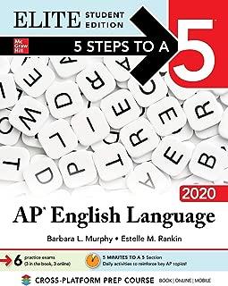 5 Steps to a 5: AP English Language 2020 Elite Student edition