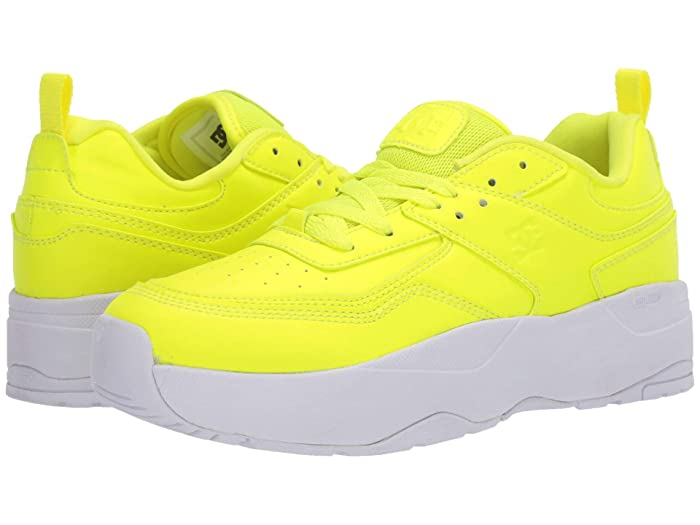 DC  E.Tribeka Platform (Yellow) Womens Shoes