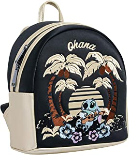 Loungefly Disney Lilo Stitch Satin Mini Backpack