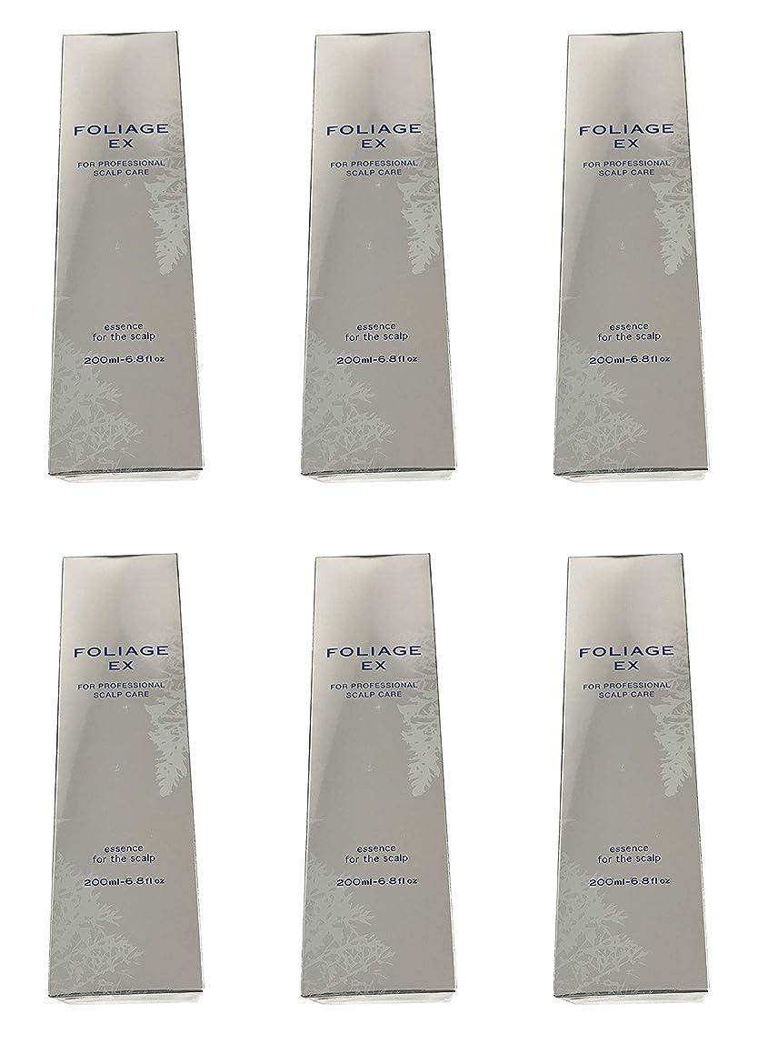 ピカリング意図古代中野製薬 フォリッジ スキャルプエッセンス EX-BL 200ml [医薬部外品]×6本セット