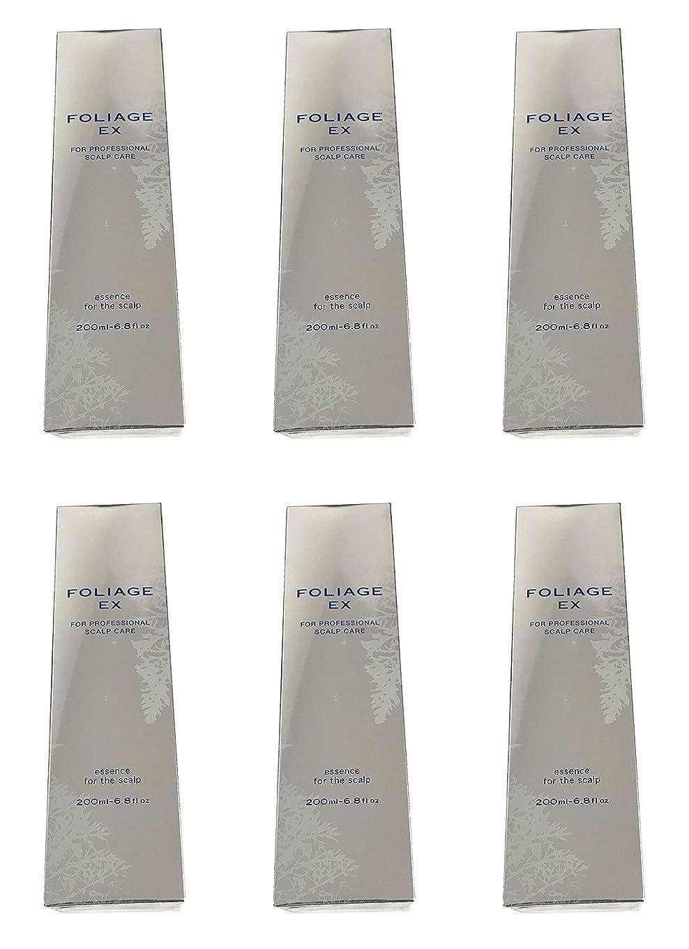 多様なゴネリル手段中野製薬 フォリッジ スキャルプエッセンス EX-BL 200ml [医薬部外品]×6本セット