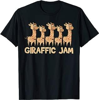 giraffic jam t shirt