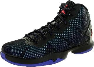 Jordan Nike Kids Super.Fly 4 Bg Blck/Infrrd 23/Brght Cbcrd/Bl Basketball Shoe 4 Kids US