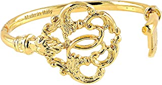 Clamor Glamour - Bracciale Chiave Ducale, Taglia: M (da 17 a 22 cm), Colore: Oro