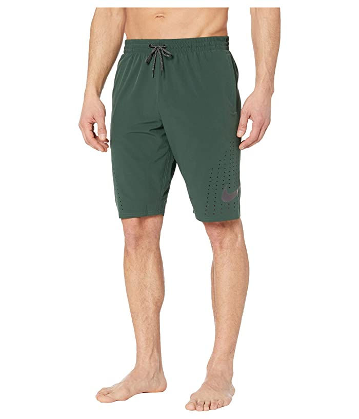 Nike  11 Onyx Flash Breaker Volley Shorts (Galactic Jade) Mens Swimwear