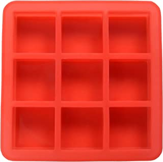 SILICOMOLDS - SQUARE - 100GMS - 9CAVITIES - SILICONE SOAP MOLD - 22CM X 22CM X 3CM