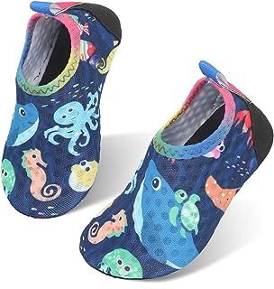 storeofbaby نوزادان پسر بچه کفش های آبی نوزاد پابرهنه پاشنه خشک خشک آبی برای استخر ساحل شنا