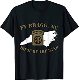 Fort Bragg Military Base-Army Post-Fayetteville, NC T-shirt