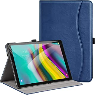 Ztotop Case for Samsung Galaxy Tab S5e 10.5 Inch Tablet 2019(SM-T720/T725), PU Leather Folding Stand Folio Cover with Auto Wake/Sleep, Pen Holder and Multiple Viewing Angles, Navyblue