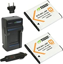 Wasabi Power Battery (2-Pack) and Charger for Sony NP-BN1 and Sony Cyber-shot DSC-QX10, DSC-QX100, DSC-T99, DSC-T110, DSC-...