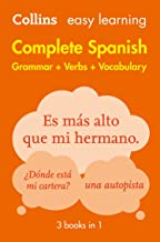 Easy Learning Spanish Complete Grammar, Verbs and Vocabulary (3 books in 1): Trusted support for learning (Collins Easy Le...