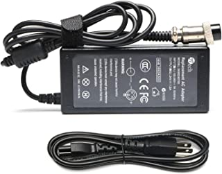 YTech 36W 24V 1.5A 3-Pin InlineElectric Scooter Battery Charger for Razor E100 E200 E300 E125 E150 E500 E175 PR200,  E225S E325S MX350