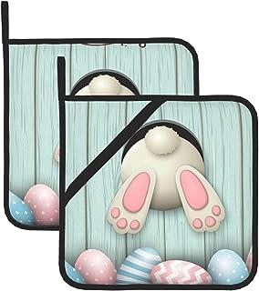 Bunny Potholders Easter Potholder Jelly Bean Potholder Bunny Pot Holders Jelly Bean Pot Holder RTS Easter Pot Holder
