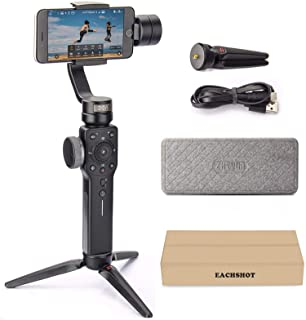 Zhiyun Smooth 4 3-Axis Handheld Gimbal Stabilizer YouTube Video Vlog Tripod for iPhone 11 Pro Xs Max Xr X 8 Plus 7 6 SE An...