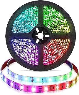 comprar comparacion Tira de LED 2M RGB Cambio de color Control remoto Cuerda con pilas TV Luz de fondo Luz de fondo para el hogar Cocina Decor...