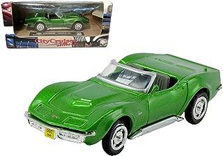 1969 Chevrolet Corvette NEWRAY City Cruiser Diecast 1:43 Green