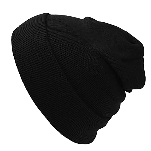 7f64549e5ad943 Cap911 2040USA Unisex Plain 12 inch Long Beanie - Many Colors